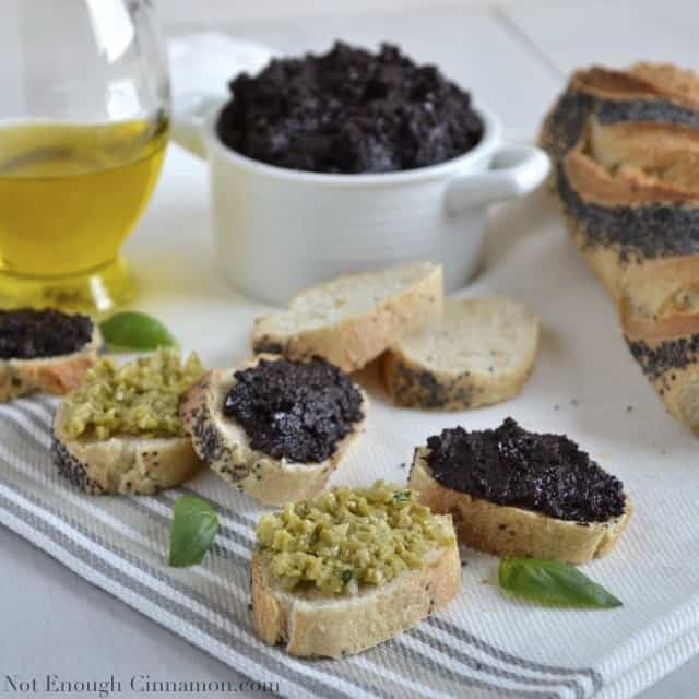Black Olive Tapenade Recipe (easy, 5 ingredients only ...