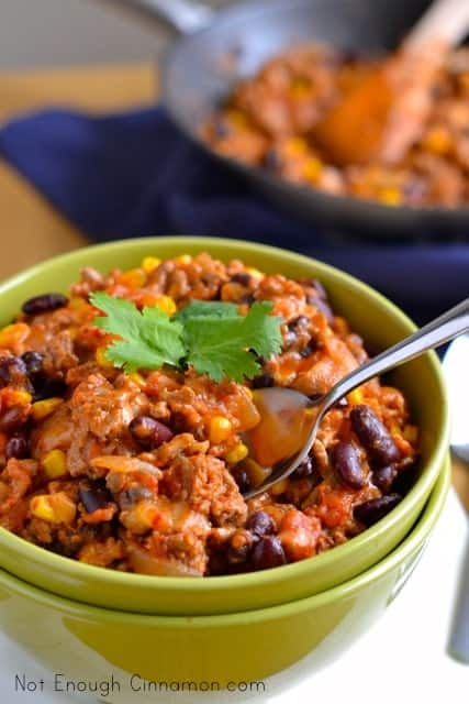 20-Minute Turkey Chili