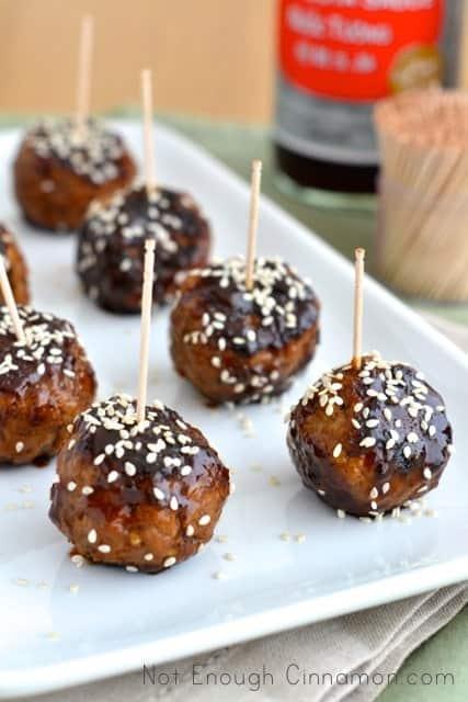 Asian Glazed Meatballs