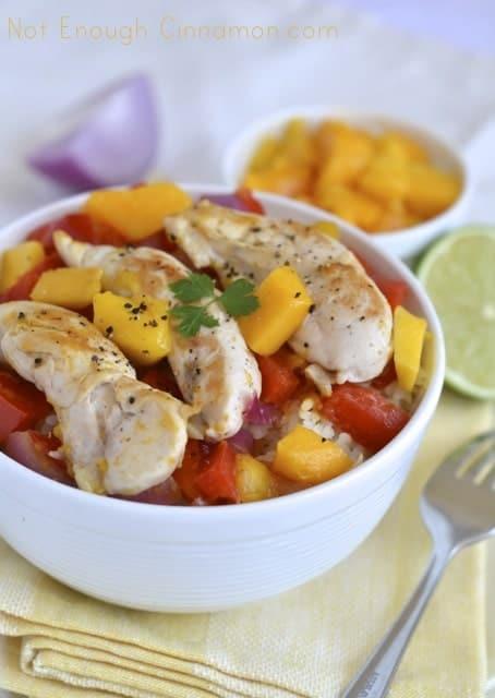 Bell Pepper, Mango and Red Onion Chicken Tenderloins2