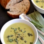 Skinny Cream of Zucchini Soup