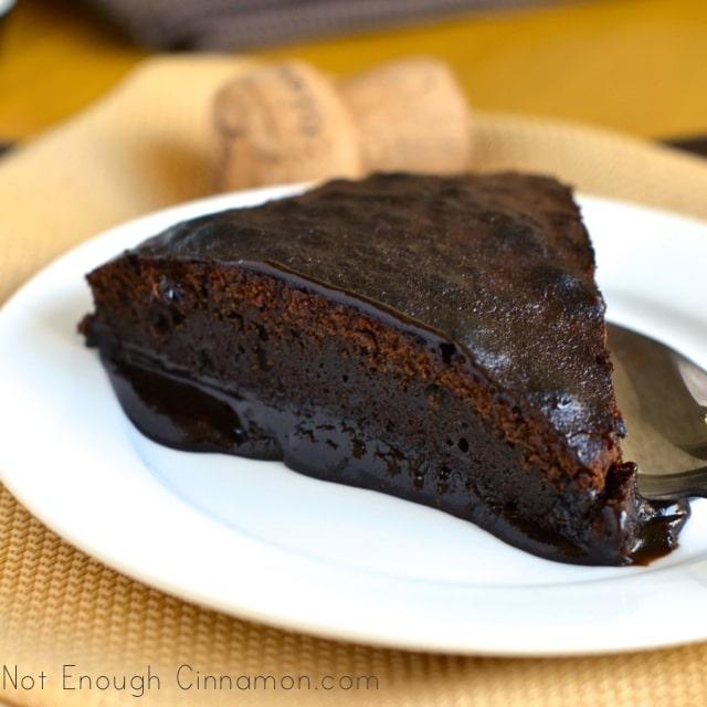 Decadent Ooey Gooey Chocolate Cake