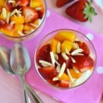 Mango-Strawberry Yogurt Parfaits