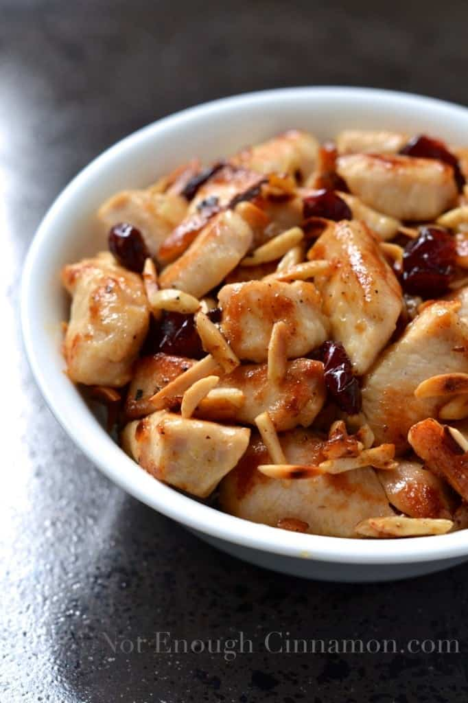 Almond Craisins Chicken Skillet