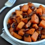 Bacon and Sweet Potato Skillet - pin