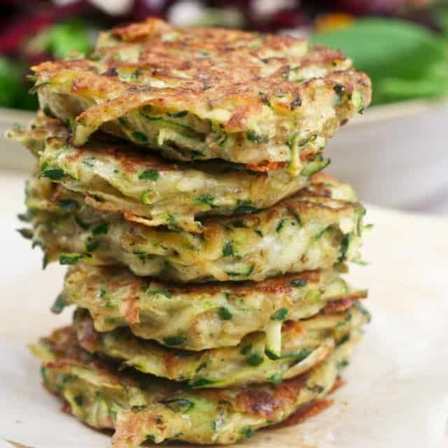Zucchini Fritters - The Healthy Foodie