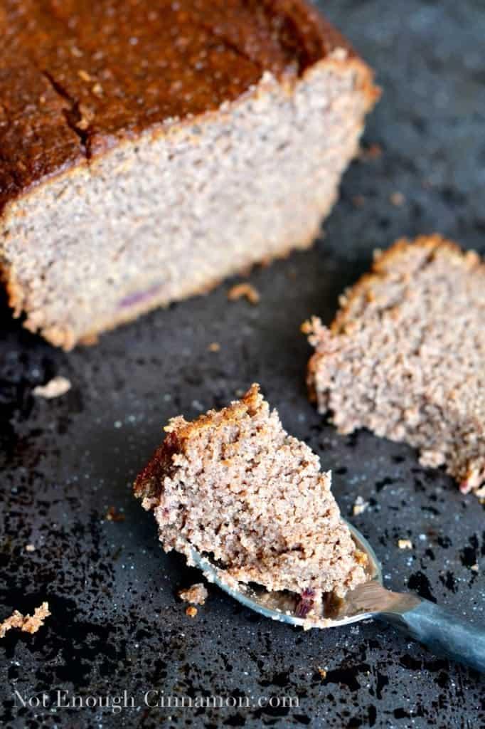 Paleo Banana Bread I NotEnoughCinnamon.com