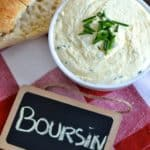 Homemade Boursin Cheese - Pin
