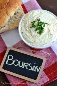 Homemade Boursin Cheese - Pin
