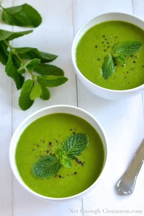 Pea and Mint Soup | Mouth-Watering Gazpacho Recipes You Won't Believe Are Healthy