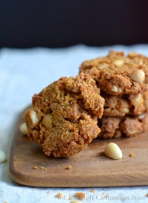 Paleo Macadamia Cookies - Pin