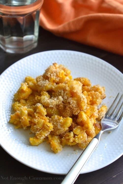 Pumpkin Pasta Casserole - Pin