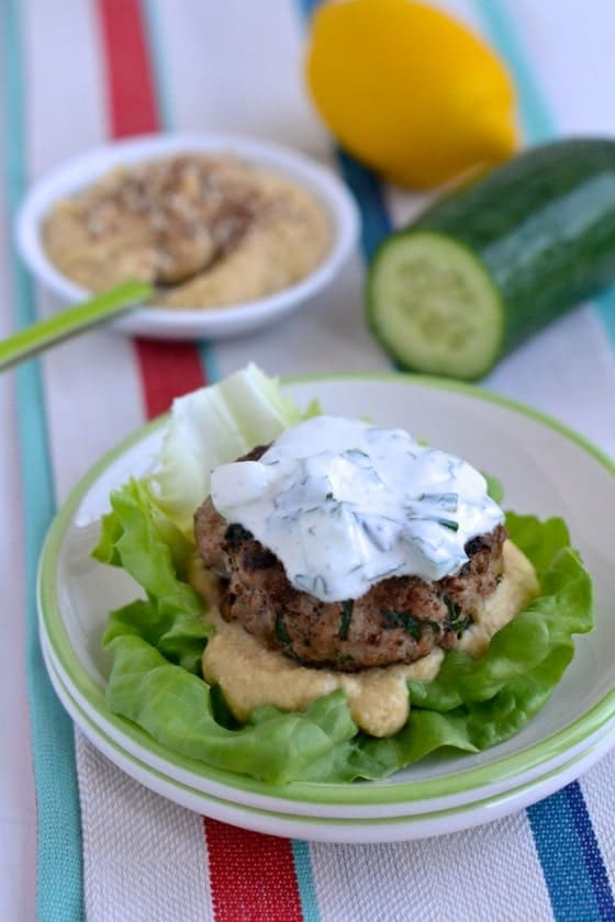 Middle Eastern Lamb Burgers | NotEnoughCinnamon.com #recipe #glutenfree