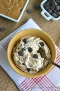 Peanut Butter Cups Frozen Yogurt aka Healthy Reese's Ice Cream - Click to find the recipe on NotEnoughCinnamon.com