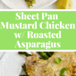 Super simple one pan Spring chicken dinner #paleo #glutenfree #healthy #cleaneating