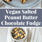An easy fudge recipe that's not only made with healthy wholesome ingredients but super delicious too! Recipe on NotEnoughCinnamon.com #glutenfree #vegan #cleaneating
