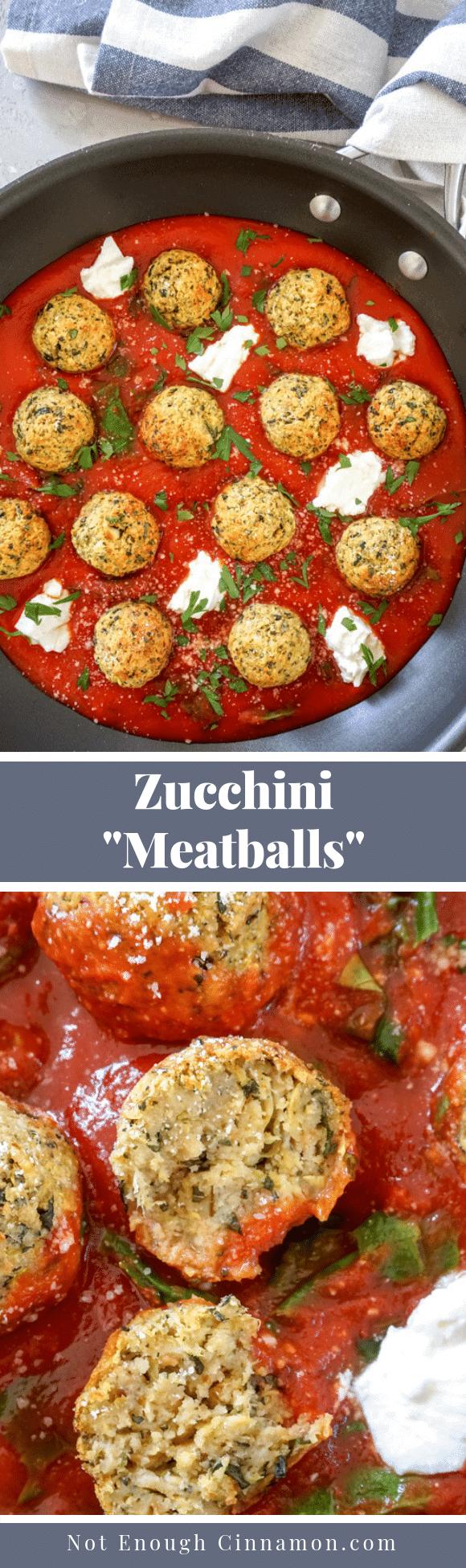 Zucchini 8220Meatballs8221