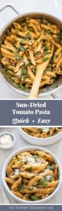 Easy Sun-Dried Tomato Pasta Pin