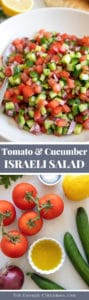 Israeli salad pin
