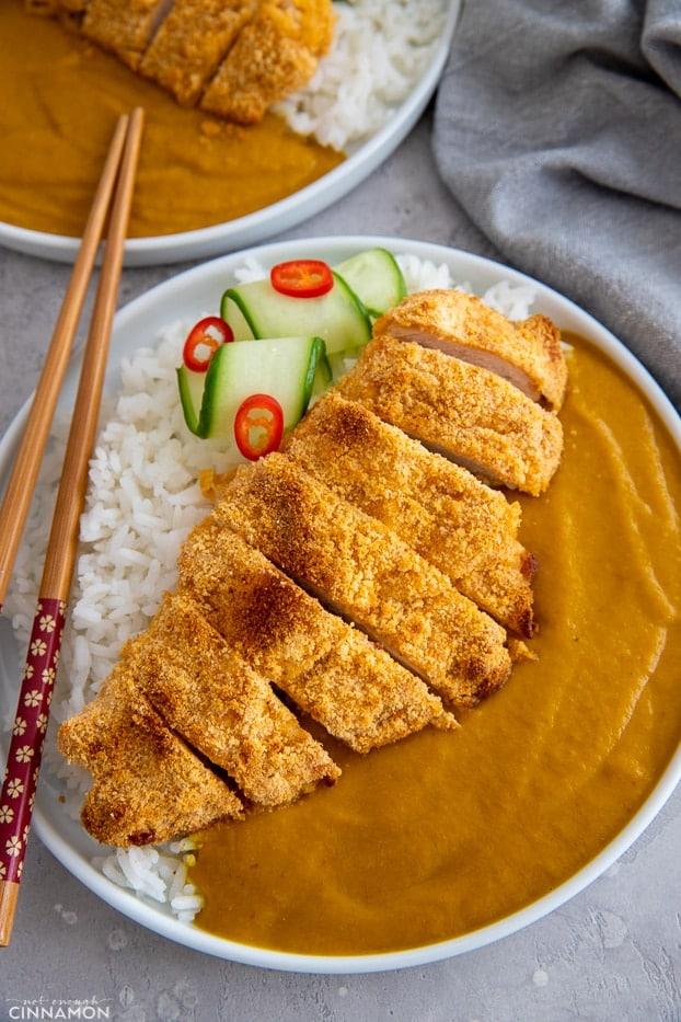 Healthy Chicken Katsu Curry Not Enough Cinnamon