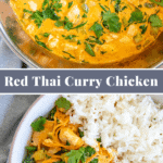 pin for red thai curry with chicken